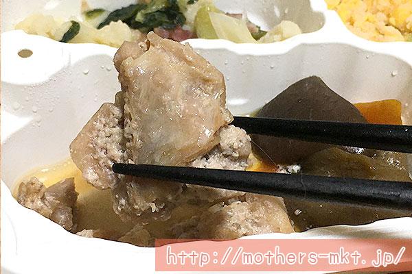 鶏肉のタレ焼き弁当アップ