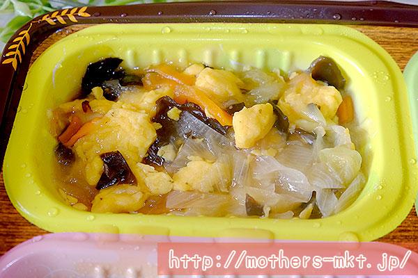 玉子と木耳(キクラゲ)の炒め物