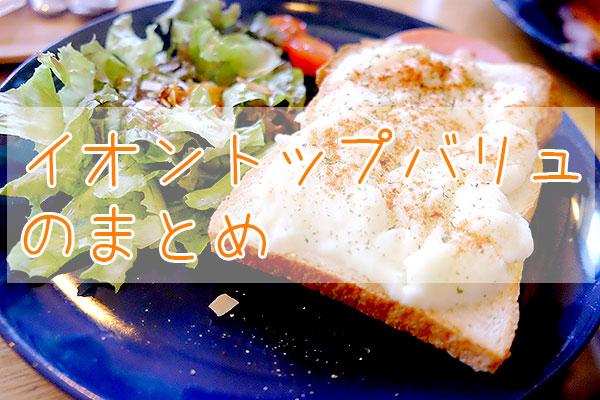 イオントップバリュ【冷凍弁当】のまとめ