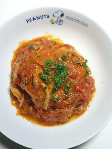 チキンのトマト煮完成!
