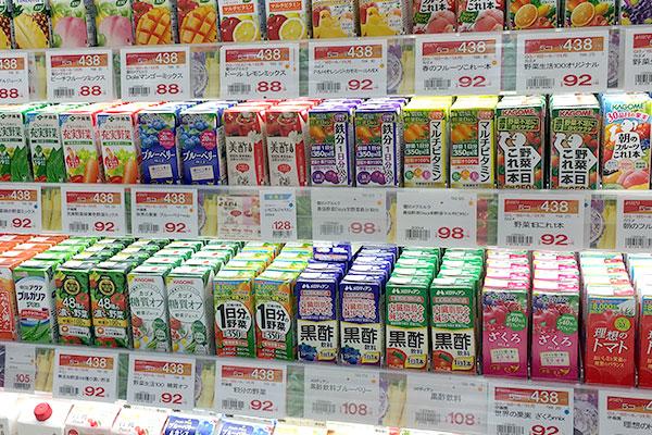 人気の野菜ジュースに含まれる栄養成分表(有名野菜ジュースを含む)