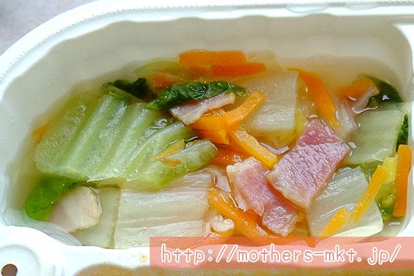 白菜のスープ煮