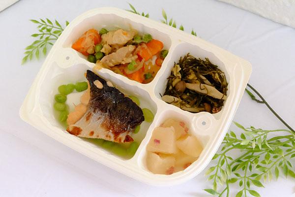 鮭の塩焼き弁当