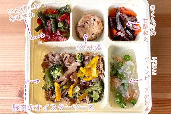 豚肉のオイスターソース詳細