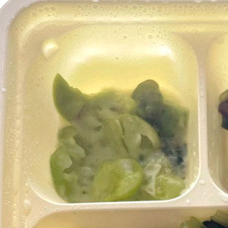 そら豆のクリームソース