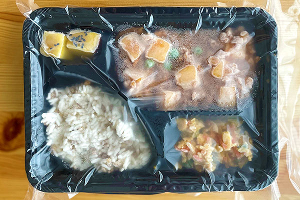 麻婆豆腐弁当外装