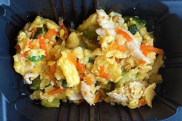 ズッキーニと卵のソテー