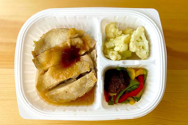 ポン酢鶏モモ肉ステーキアップ