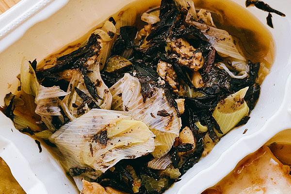鶏肉とひじきの梅煮