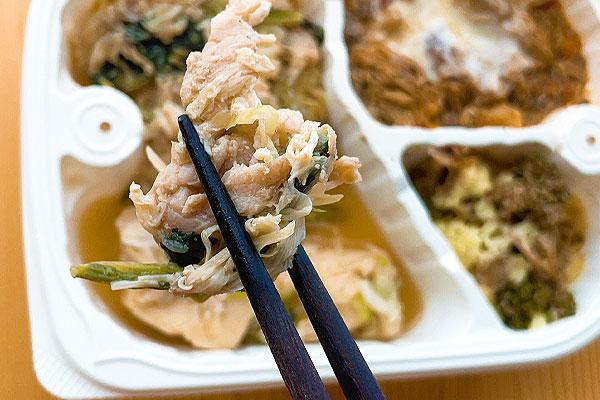 高野豆腐の肉豆腐アップ